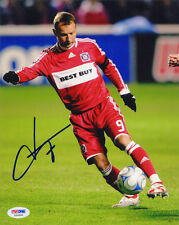 Frank Kowski SIGNED 8x10 Photo Chicago Fire *VERY RARE* PSA/DNA AUTOGRAPHED