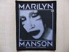Marilyn Manson - Villain - Aufnäher - Patch - Nine Inch Nails - Rammstein