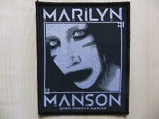 Marilyn Manson-Villain-ricamate-patch - Nine Inch Nails-Rammstein