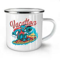 Vacation NEW Enamel Tea Mug 10 oz | Wellcoda