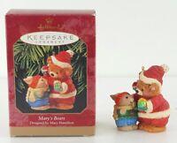 Mary's Bears ~1999 Hallmark Keepsake Christmas Ornament~Mary Hamilton New Gift
