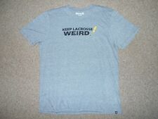 HURLEY BY NIKE NEW! TRI-BLEND MENS SMALL LACROSSE HEATHER GRAY T-SHIRT