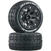 Duratrax Bandito St 2.2 Buggy Tires and Wheels Black (2) DTXC5105