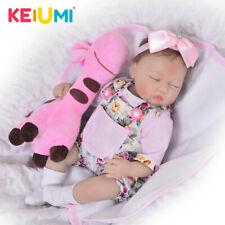 KEIUMI 17 Inch Toy Baby Doll 42 cm Soft Silicone Baby Reborn Adora Dolls