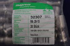20x GEBERIT 32307 Mapress 28x15mm Reduzierstück Einschubende I / A Neu OVP