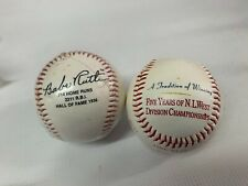 Two Baseballs: One Babe Ruth & One Braves
