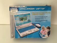 VTech Challenger Laptop Blue Interactive educational toy computer