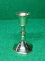 """4X Biedermann Brass Candlestick Holders  3.75"""""""
