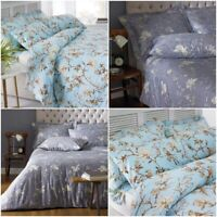 PREMIUM QUALITY 100% EGYPTIAN COTTON BIRD DUVET COVER SET DOUBLE KING BEDDING