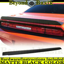 2008-2017 Dodge Challenger OEM Factory Style Rear Spoiler Wing MATTE BLACK