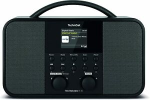 Technisat Techniradio 5 Ir - Stéréo DAB+ Radio Internet (DAB,Aux,WLAN,Minuteur