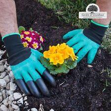 Une paire de gants de jardinage 4 griffes - idée cadeau astuce jardinier