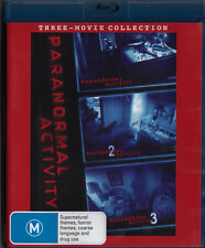 PARANORMAL ACTIVITY 1/2/3 Blu-Ray DISC Set    New    SirH70