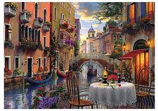 PUZZLE TREFL 6000 pièces-Dominic Davison: Romantique Venise (51316)