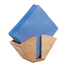 Serviettenhalter Holz Kaffeefilterhalter Bambus Papierhalter Serviettenständer