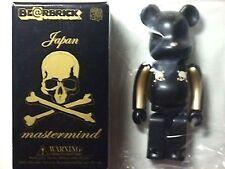 MASTERMIND Japan 2004 Halloween Gold Stripe 100% BE@RBRICK (Medicom) MINT in BOX