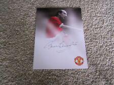 Sir Bobby Charltonl(Manchester United)Hand Signed Club Card