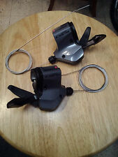 Shimano CLARIS SL-2400 FLAT BAR Shifters 2 x 8