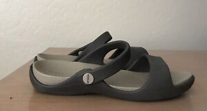 Women Crocs Open Toe Sandals Shoes Size 8