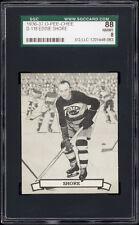 1936-37 V304 O-Pee-Chee Series D #118 Eddie Shore (HOF, Boston Bruins) SGC 88