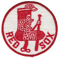 "1960'S Era Boston Red Sox Mlb Baseball 4"" Throwback Batting Sock Logo Team Patch"