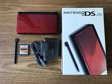 Nintendo DS Lite Black & Red Console Handheld System NDS BRAND NEW