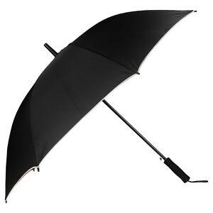 """48"""" Super Windproof Anti-UV Protection Auto Open Sun Rain Long Handle Umbrella"""