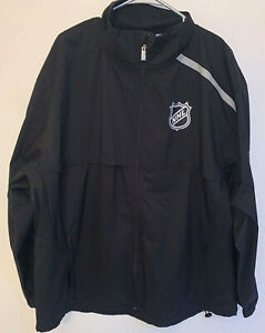 FANATICS AUTHENTIC PRO NHL HOCKEY RINKSIDE FULL ZIP JACKET NHL BLACK M