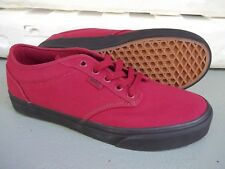 Vans Atwood (Check Liner) Tibetan Red/Black Men's Casual Skate Shoes SIZE 8