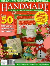 HANDMADE CRAFTS MAGAZINE  VOL 26 NO 1.  2008. PATTERN SHEETS ATTACHED