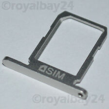 Samsung GALAXY s6 NANO SIM-SUPPORTO ARGENTO SLITTA TRAY g920f CARD HOLDER SILVER