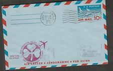1960 first flight aerogramme cover Irish Airlines NY AMF Idlewild to Dublin