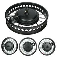 Aluminium Alloy 48V 1500W Electric Bicycle Conversion Engine Motor Wheel Kit