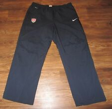 USA Soccer Warm-up Pants, Nike Dri-Fit, Blue, Size 2XL NEW