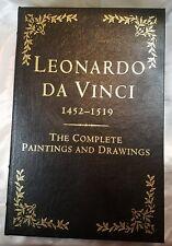 Leonardo Da Vinci The Complete Paintings and Drawings Easton Press Leather