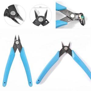 Blue Cutter Plier Wire Cutting Tools Nail Art Rhinestone Gems Bead Removal Tool