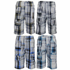 Polyester Checked Shorts (2-16 Years) for Boys