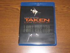 Taken (Blu-ray Disc, 2009, 2-Disc Set, Extended Cut; Includes Digital Copy Disc)