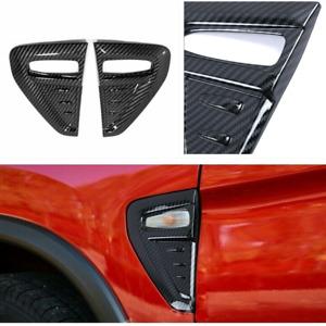 2× For Mitsubishi Outlander Sport 2020-2021 Car Side Turn Light Cover Trim Decor