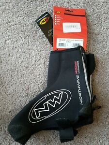 Northwave Sonic High Winter Shoecover Overshoes Black Size L Cycling NEW
