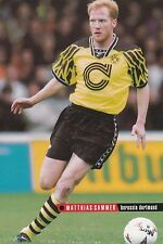 Football Photo>MATTHIAS SAMMER Borussia Dortmund 1994-95