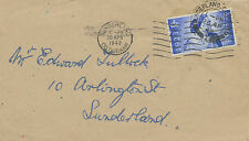 2414 1948 Royal Silver Wedding 2 1/2 d rare plain FDC SUNDERLAND / CO.DURHAM