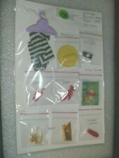 Vintage Barbie And Friends Items~*~Japan Shoes & Tammy Family Flyer & More
