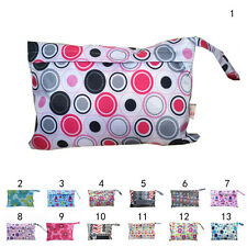 Baby Waterproof Travel Wet Dry Storage Bag Portable Cloth Zipper Diaper Pouch li
