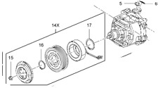 Vauxhall Compresor-Original-95523440