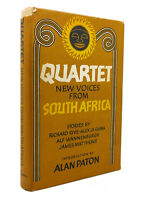 Alan Paton QUARTET: NEW VOICES FROM SOUTH AFRICA  1st Edition 1st Printing