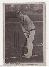 Worcestershire Crocket Captain H.K. Foster Postcard, B504