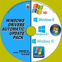 DRIVERS UPDATES DVD WINDOWS VISTA 7 8 10 INSTALL UPDATE ANY PC/LAPTOP DRIVER NEW