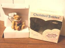 Cherished Teddies how many ways can I say I love you Enesco figure in box 790443