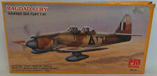 AVIAZIONE: BAGDAD Fury HAWKER SEA FURY t-61 KIT modello realizzato da PM MODEL pm214